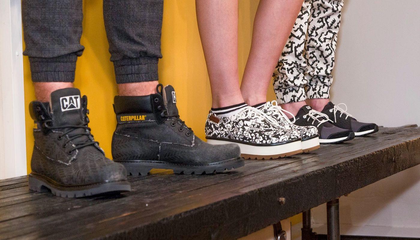 Skórzane buty lifestylowe Caterpillar - nowy hit sprzedaży • PORADNIK