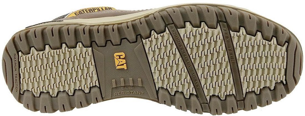CATERPILLAR Apa Leather Sneakers Casual City Athletic Trainers Shoes Mens New