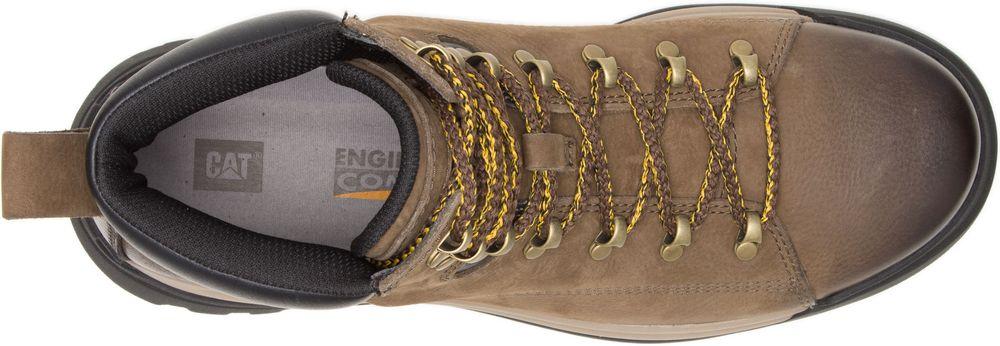 CAT-CATERPILLAR-Brawn-de-Randonnee-Baskets-Chaussures-Bottes-pour-Hommes-Nouveau miniature 10