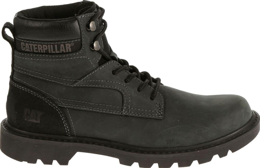 CAT-CATERPILLAR-Bridgeport-en-Cuir-de-Travail-Chaussures-Bottes-Hommes-Nouveau miniature 3