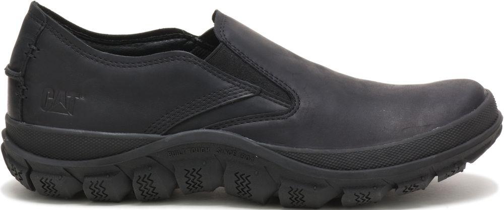 miniature 3 - CATERPILLAR Fused de Cuir Sneakers de Marché Baskets à Enfiler Chaussures Hommes
