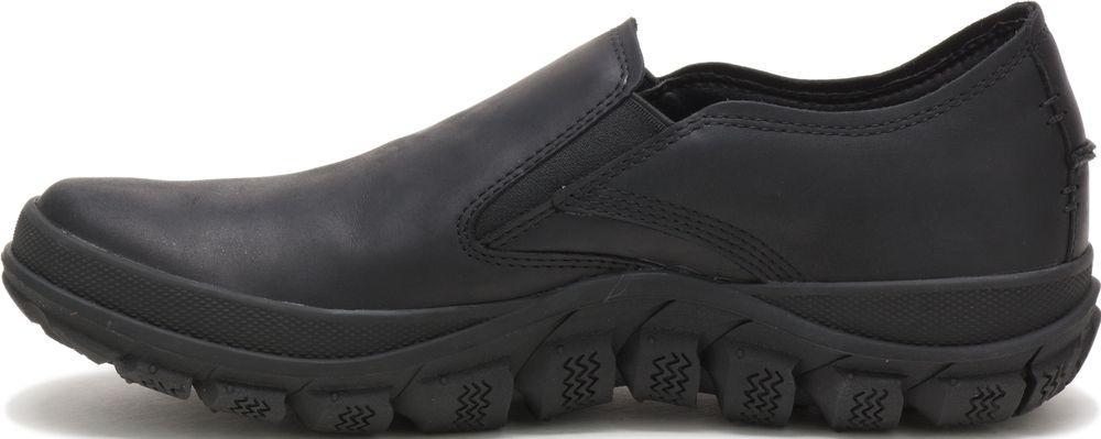 miniature 4 - CATERPILLAR Fused de Cuir Sneakers de Marché Baskets à Enfiler Chaussures Hommes