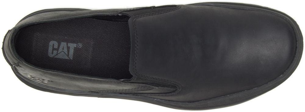 miniature 5 - CATERPILLAR Fused de Cuir Sneakers de Marché Baskets à Enfiler Chaussures Hommes