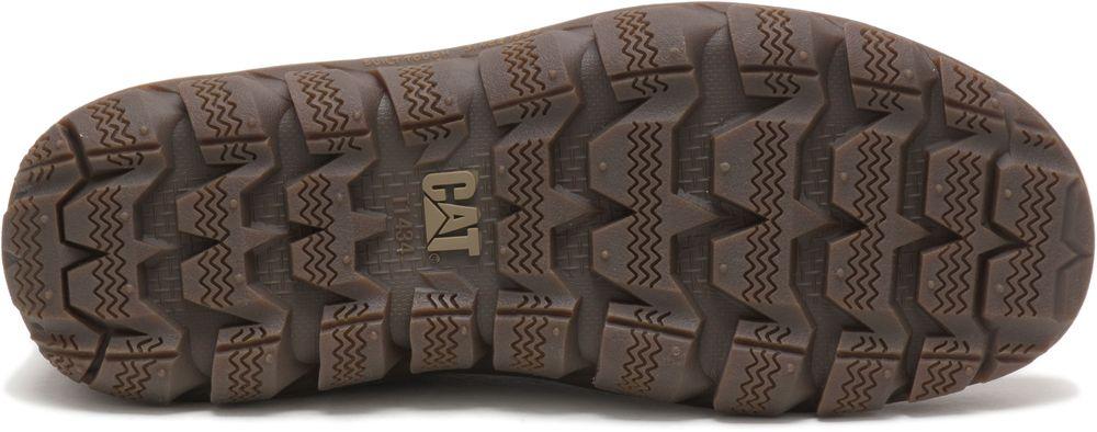 miniature 11 - CATERPILLAR Fused de Cuir Sneakers de Marché Baskets à Enfiler Chaussures Hommes
