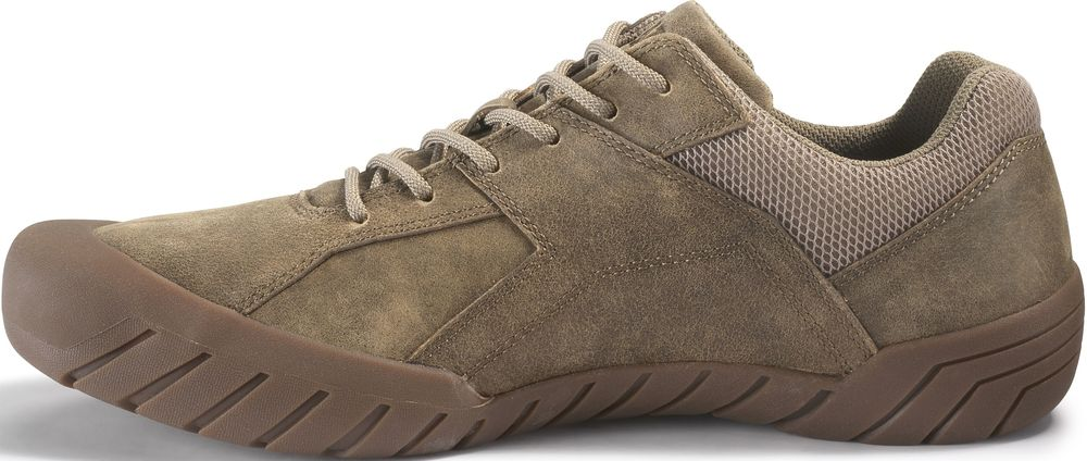 CAT-CATERPILLAR-Haycox-Cuir-Baskets-Casual-Athletic-Trainers-Chaussures-Homme-Nouveau miniature 9