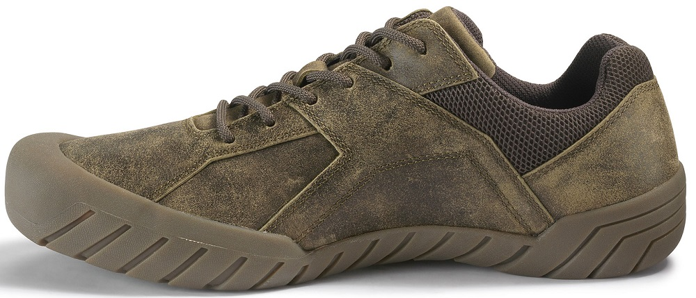 CAT-CATERPILLAR-Haycox-Cuir-Baskets-Casual-Athletic-Trainers-Chaussures-Homme-Nouveau miniature 14
