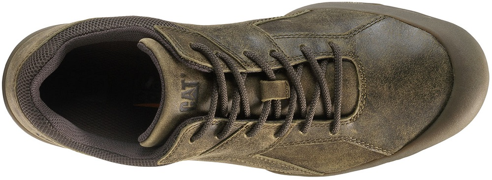 CAT-CATERPILLAR-Haycox-Cuir-Baskets-Casual-Athletic-Trainers-Chaussures-Homme-Nouveau miniature 15