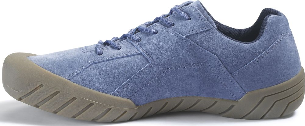 CAT-CATERPILLAR-Haycox-Cuir-Baskets-Casual-Athletic-Trainers-Chaussures-Homme-Nouveau miniature 19