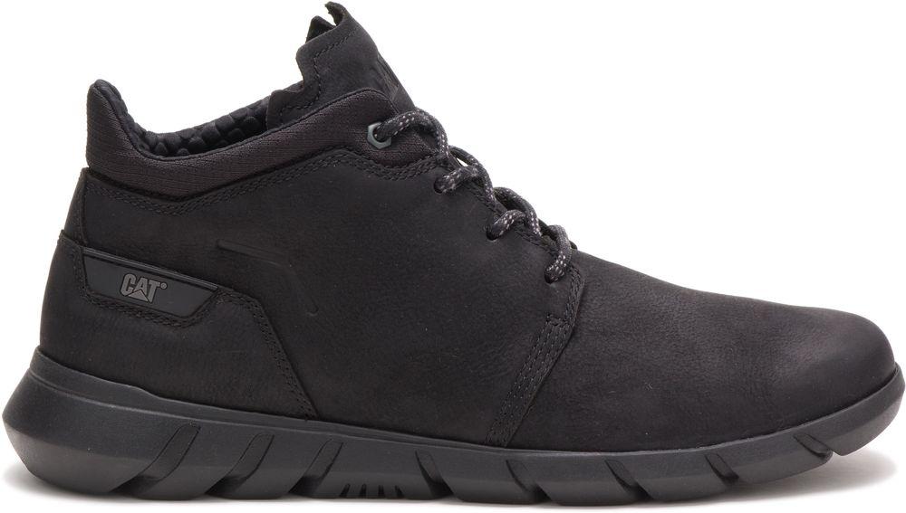 CAT-CATERPILLAR-Hendon-en-Cuir-Sneakers-Chaussures-Bottes-pour-Hommes-Nouveau miniature 3