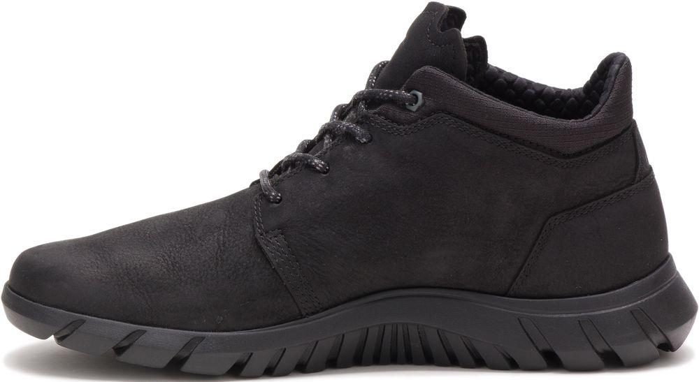 CAT-CATERPILLAR-Hendon-en-Cuir-Sneakers-Chaussures-Bottes-pour-Hommes-Nouveau miniature 4