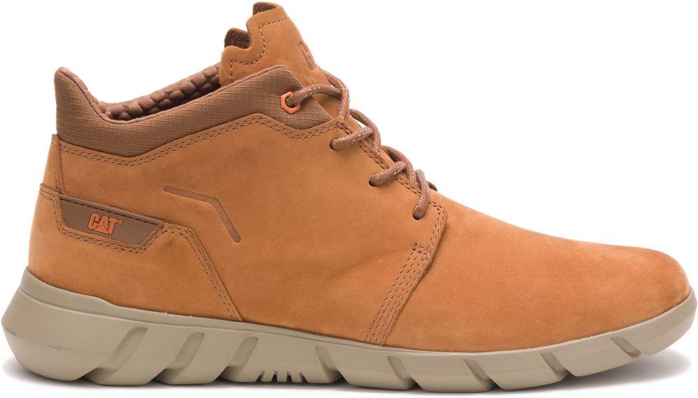 CAT-CATERPILLAR-Hendon-en-Cuir-Sneakers-Chaussures-Bottes-pour-Hommes-Nouveau miniature 8
