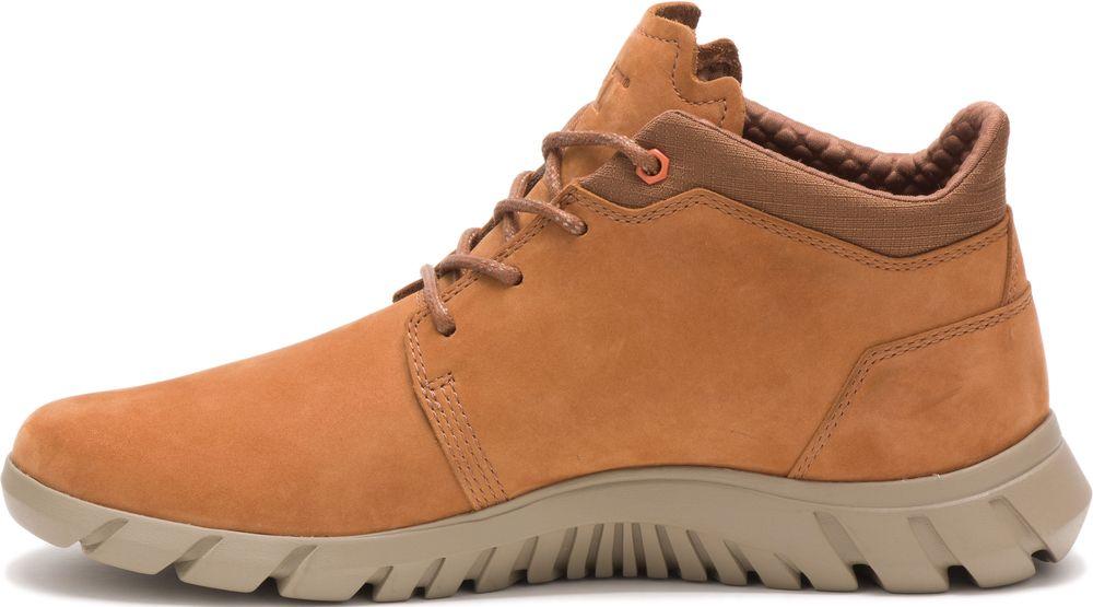 CAT-CATERPILLAR-Hendon-en-Cuir-Sneakers-Chaussures-Bottes-pour-Hommes-Nouveau miniature 9