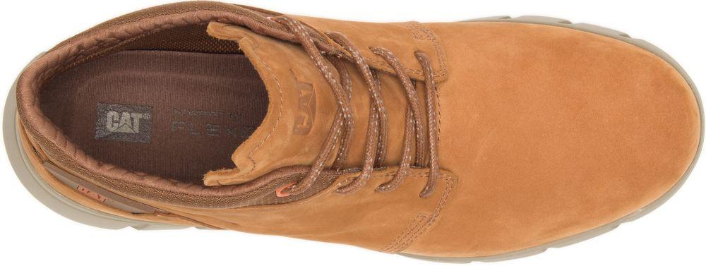 CAT-CATERPILLAR-Hendon-en-Cuir-Sneakers-Chaussures-Bottes-pour-Hommes-Nouveau miniature 10