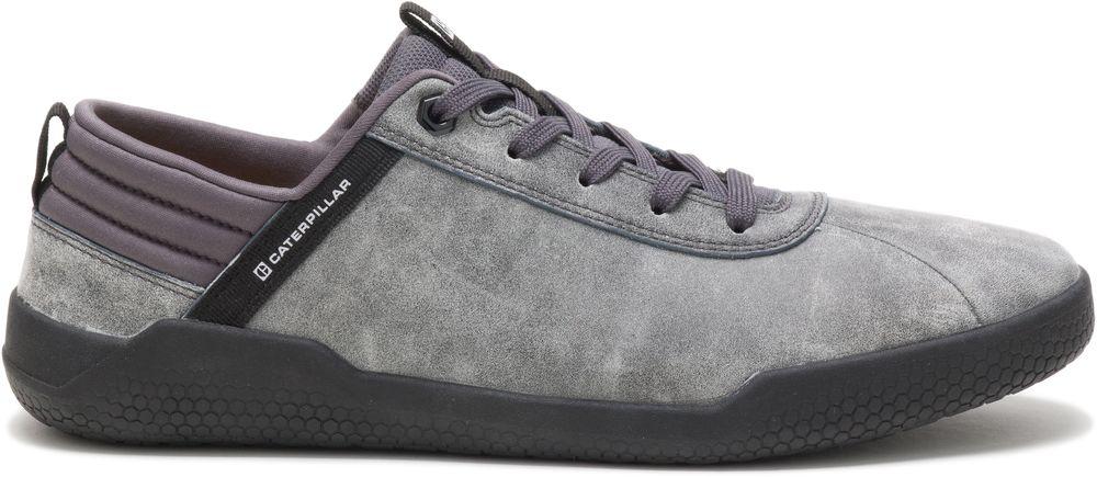 miniature 3 - CAT CATERPILLAR Hex en Cuir Sneakers Baskets Chaussures pour Hommes Nouveau