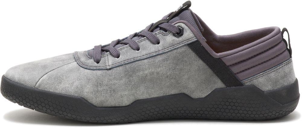 miniature 4 - CAT CATERPILLAR Hex en Cuir Sneakers Baskets Chaussures pour Hommes Nouveau