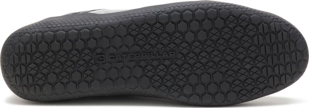 miniature 6 - CAT CATERPILLAR Hex en Cuir Sneakers Baskets Chaussures pour Hommes Nouveau