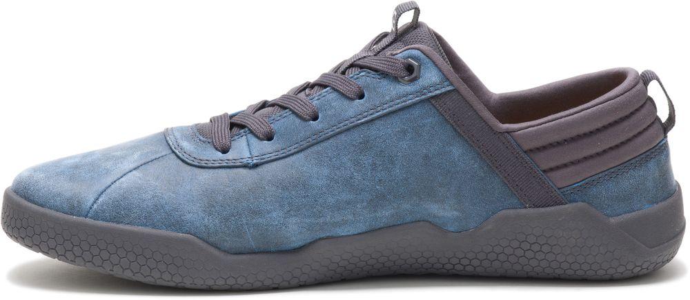miniature 9 - CAT CATERPILLAR Hex en Cuir Sneakers Baskets Chaussures pour Hommes Nouveau