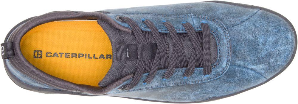 miniature 10 - CAT CATERPILLAR Hex en Cuir Sneakers Baskets Chaussures pour Hommes Nouveau
