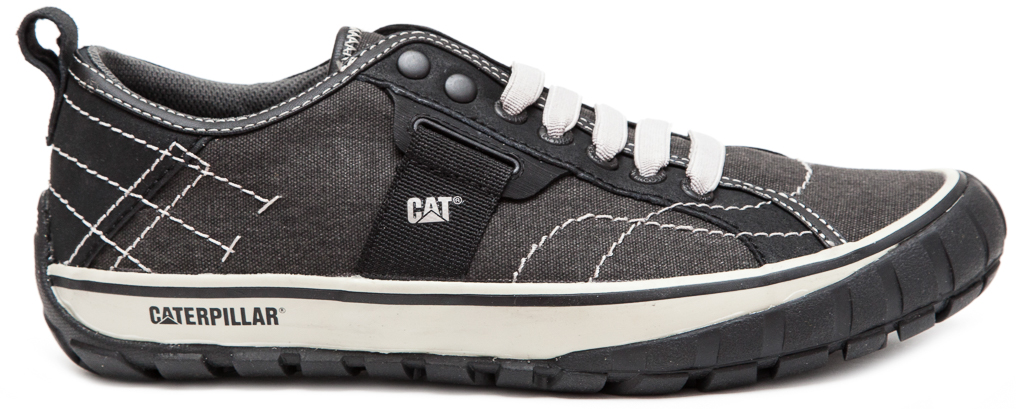 CAT-CATERPILLAR-Neder-Canvas-Sneakers-Baskets-Chaussures-pour-Hommes-Nouveau miniature 3