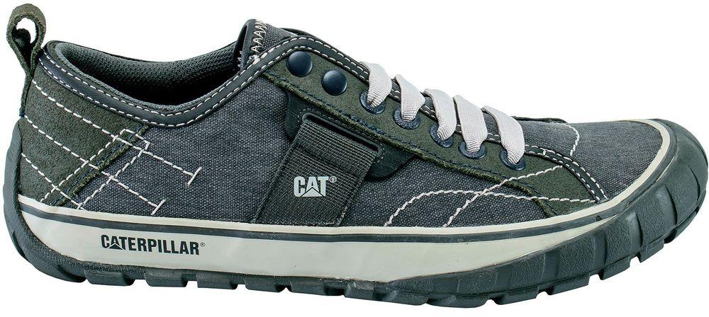 CAT-CATERPILLAR-Neder-Canvas-Sneakers-Baskets-Chaussures-pour-Hommes-Nouveau miniature 8