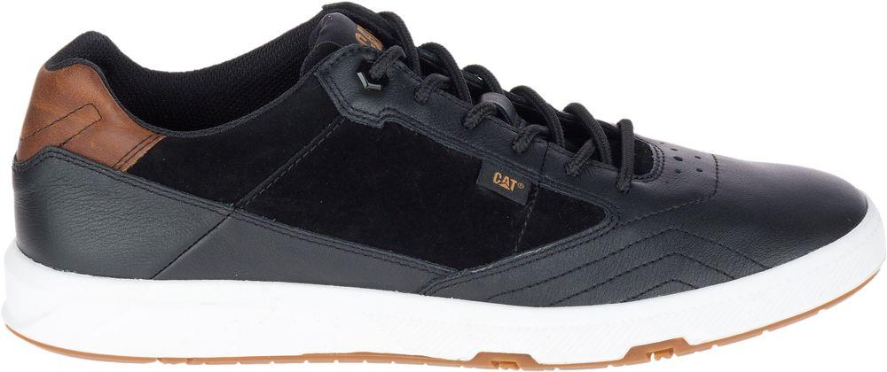 CAT-CATERPILLAR-Stat-en-Cuir-Sneakers-Baskets-Chaussures-pour-Hommes-Nouveau miniature 3