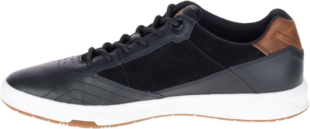 CAT-CATERPILLAR-Stat-en-Cuir-Sneakers-Baskets-Chaussures-pour-Hommes-Nouveau miniature 4