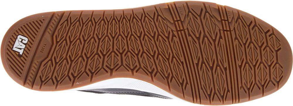 CAT-CATERPILLAR-Stat-en-Cuir-Sneakers-Baskets-Chaussures-pour-Hommes-Nouveau miniature 6