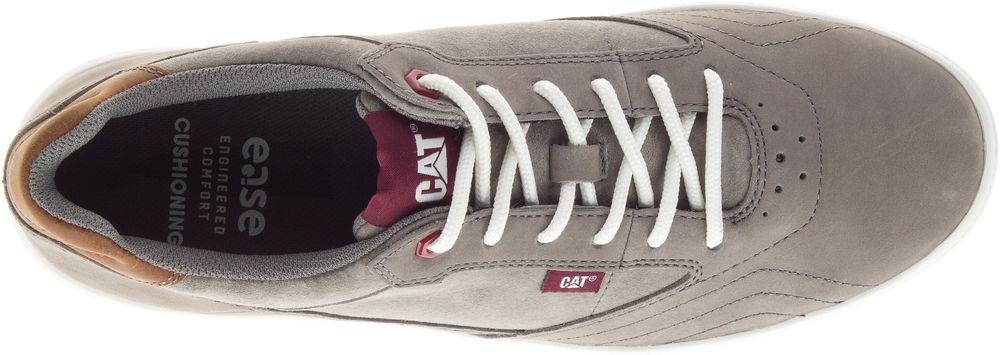 CAT-CATERPILLAR-Stat-en-Cuir-Sneakers-Baskets-Chaussures-pour-Hommes-Nouveau miniature 10