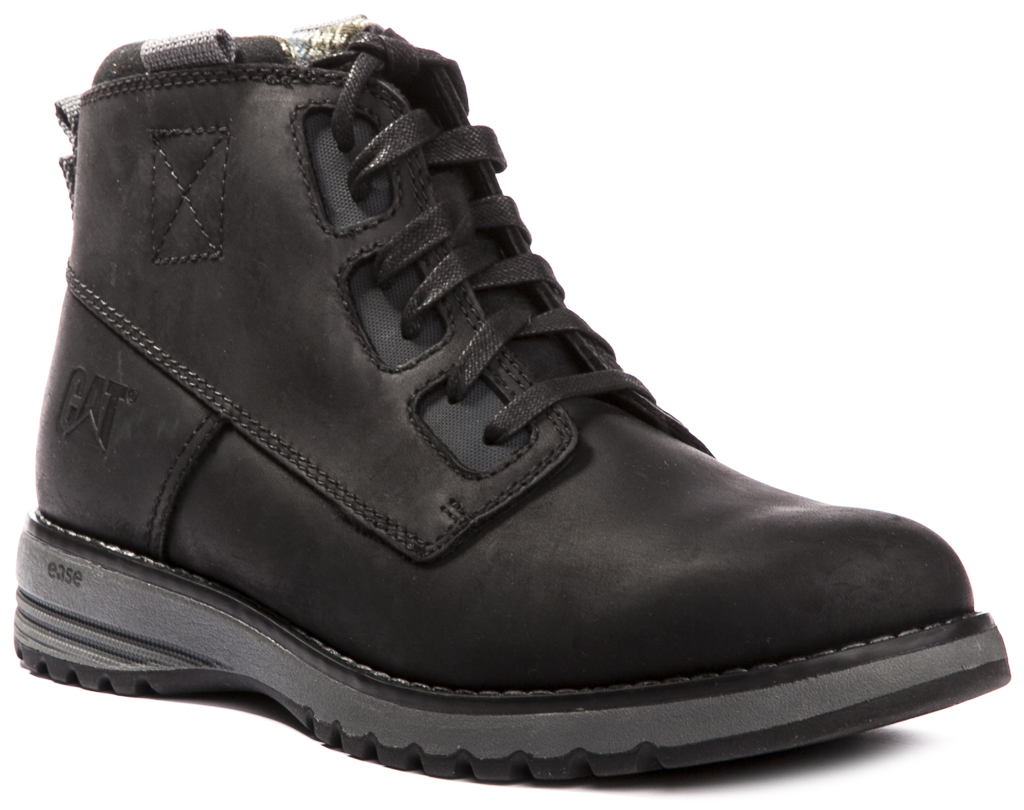 Caterpillar CAT Tate Waterproof Mens Shoes Leather Boots ...
