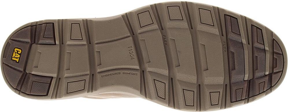CAT-CATERPILLAR-Trey-en-Cuir-Sneakers-Chaussures-Bottes-pour-Hommes-Nouveau miniature 6