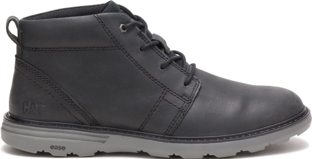 CAT-CATERPILLAR-Trey-en-Cuir-Sneakers-Chaussures-Bottes-pour-Hommes-Nouveau miniature 8