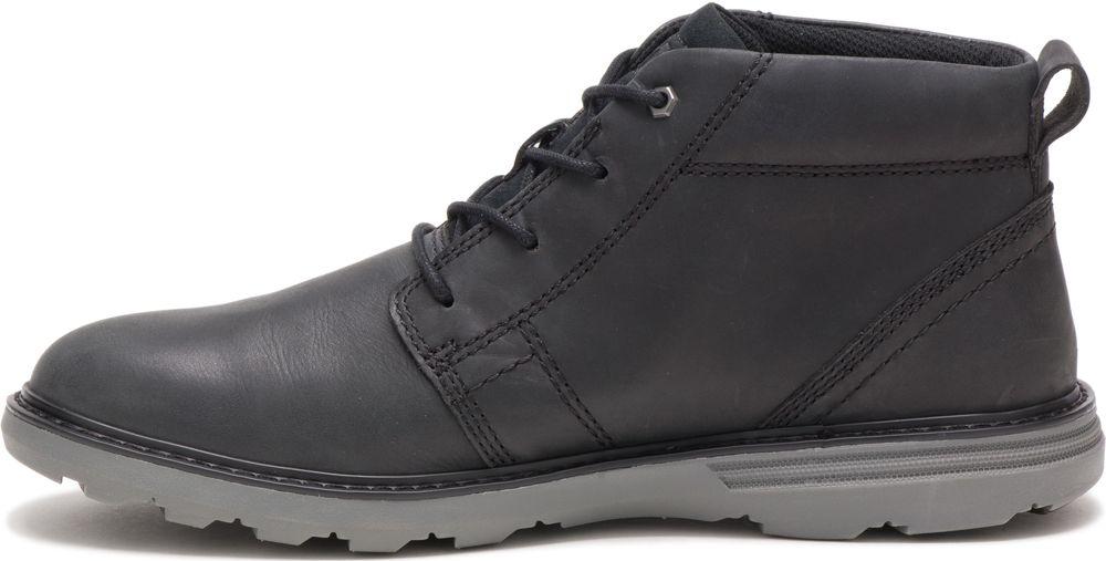 CAT-CATERPILLAR-Trey-en-Cuir-Sneakers-Chaussures-Bottes-pour-Hommes-Nouveau miniature 9