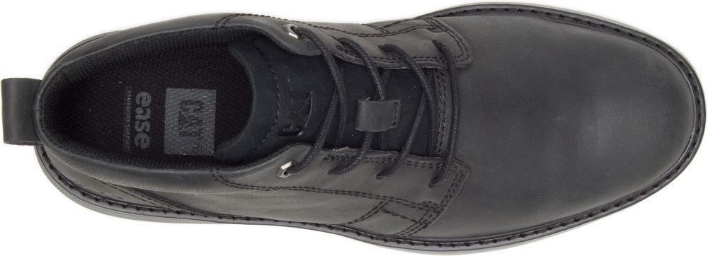 CAT-CATERPILLAR-Trey-en-Cuir-Sneakers-Chaussures-Bottes-pour-Hommes-Nouveau miniature 10