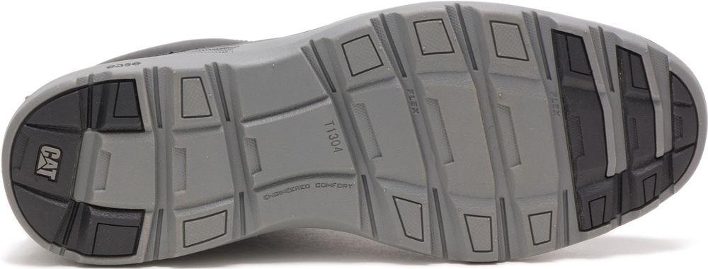 CAT-CATERPILLAR-Trey-en-Cuir-Sneakers-Chaussures-Bottes-pour-Hommes-Nouveau miniature 11