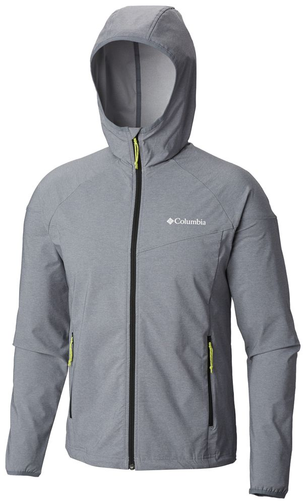 Details about COLUMBIA Heather Canyon Outdoor Hiking SoftShell Jacket Hooded Mens All Size New