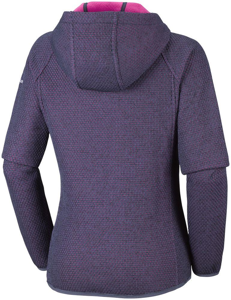 Détails sur COLUMBIA Pacific Point de Randonnée Fleece Veste à Capuche pour Femme Nouveau