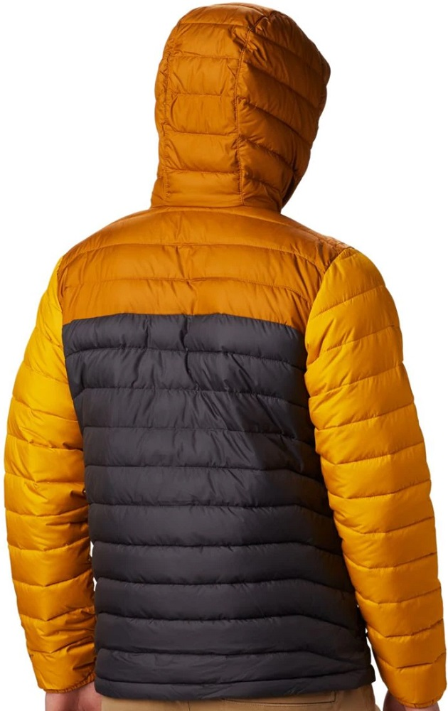 COLUMBIA Powder Lite WO1151479 Insulated Warm Down Jacket Hooded Mens All Size