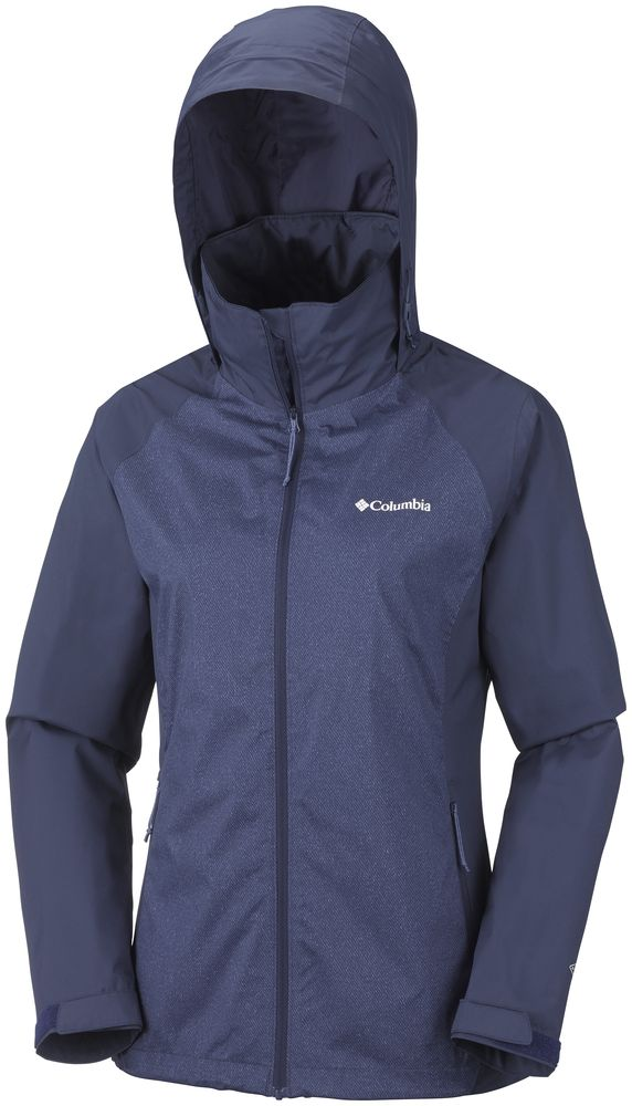 COLUMBIA Tapanga Trail Waterproof Outdoor Hiking Jacket Hooded Womens All Size