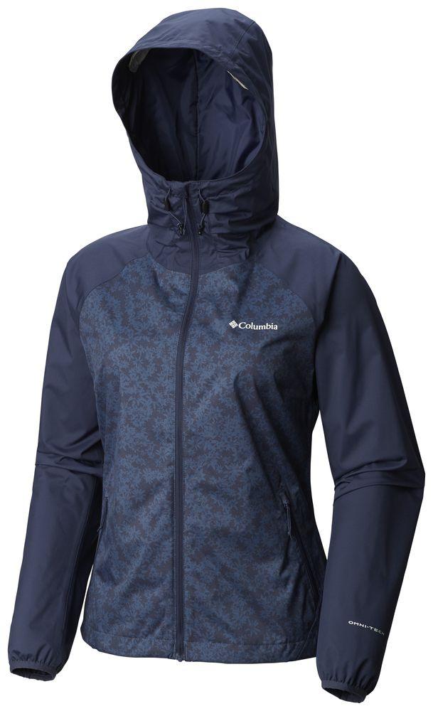 Details zu COLUMBIA Ulica Wasserdichte Wanderjacke Outdoorjacke Kapuzenjacke Jacke Damen