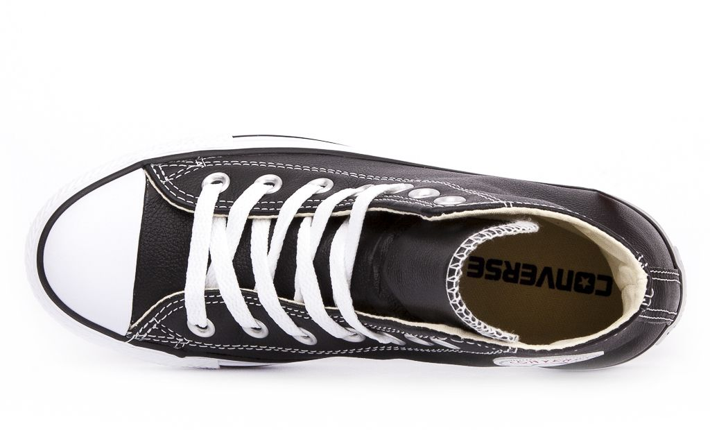 CONVERSE-Chuck-Taylor-All-Star-Leather-Sneakers-Chaussures-Bottes-pour-Femmes miniature 10