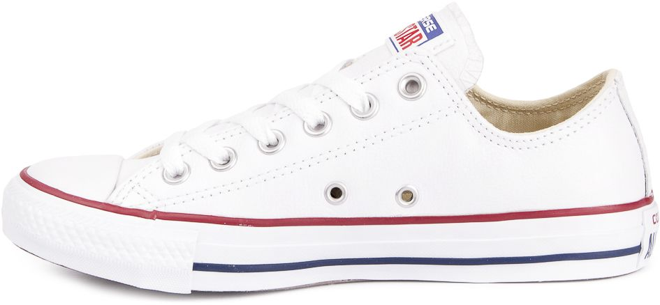 CONVERSE-Chuck-Taylor-All-Star-Leather-Sneakers-Chaussures-pour-Hommes-Original miniature 4