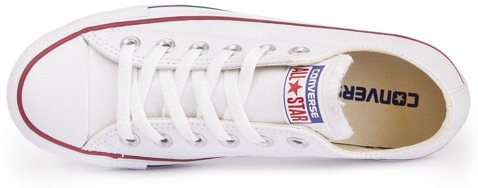 CONVERSE-Chuck-Taylor-All-Star-Leather-Sneakers-Chaussures-pour-Hommes-Original miniature 5