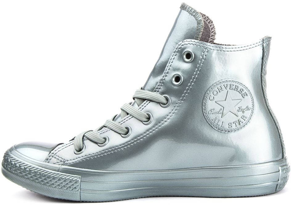 CONVERSE-Chuck-Taylor-All-Star-Rubber-Sneakers-Chaussures-Bottes-pour-Femmes miniature 4