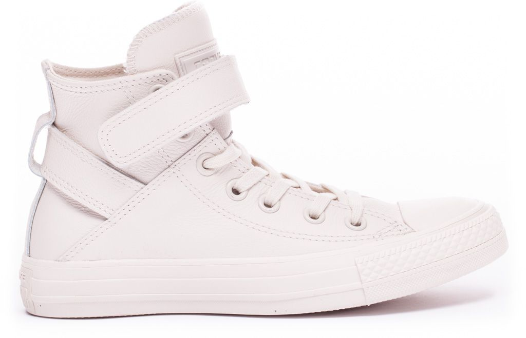CONVERSE-Chuck-Taylor-All-Star-Leather-Sneakers-Chaussures-Bottes-pour-Femmes miniature 3