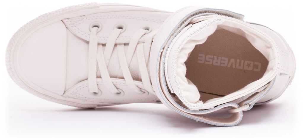 CONVERSE-Chuck-Taylor-All-Star-Leather-Sneakers-Chaussures-Bottes-pour-Femmes miniature 5