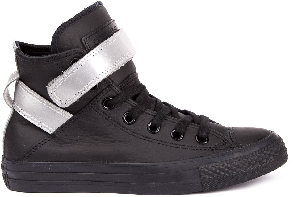CONVERSE-Chuck-Taylor-All-Star-Leather-Sneakers-Chaussures-Bottes-pour-Femmes miniature 8