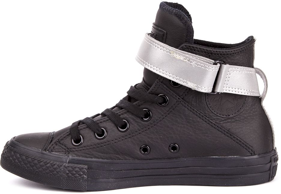 CONVERSE-Chuck-Taylor-All-Star-Leather-Sneakers-Chaussures-Bottes-pour-Femmes miniature 9