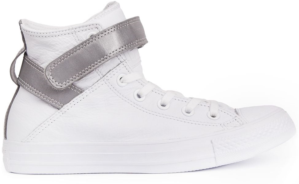 CONVERSE-Chuck-Taylor-All-Star-Leather-Sneakers-Chaussures-Bottes-pour-Femmes miniature 13