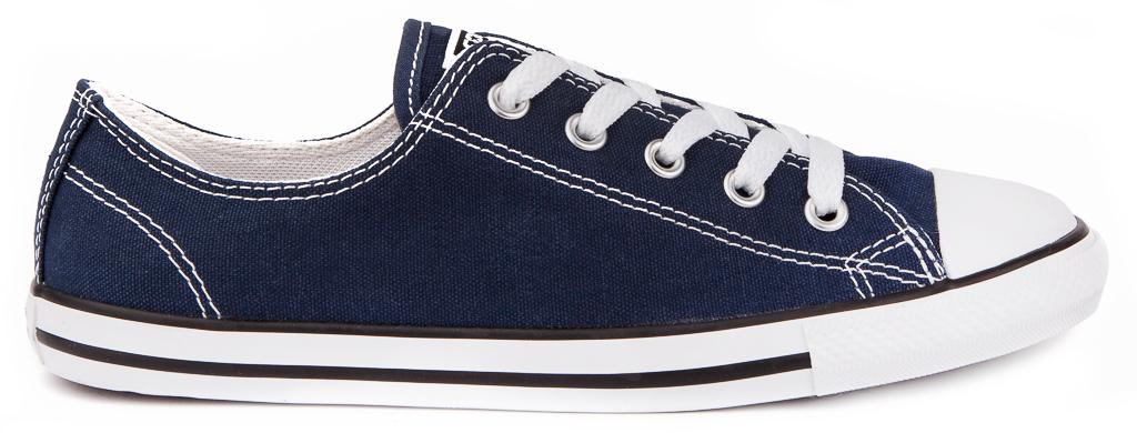 CONVERSE-Chuck-Taylor-All-Star-Dainty-Canvas-Sneakers-Chaussures-Femmes-Original miniature 3