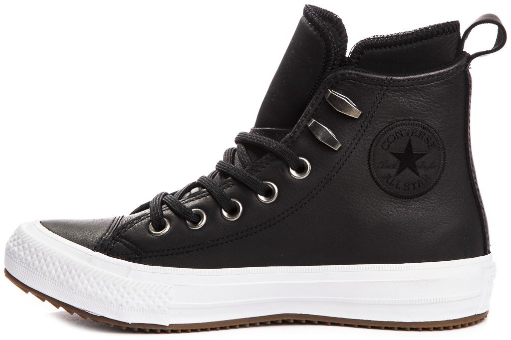 miniature 4 - CONVERSE-Chuck-Taylor-WP-Leather-Impermeable-Sneakers-Bottes-pour-Femmes-Nouveau